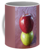 Red And Green Apples Coffee Mug