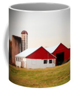 Red And White Barn Coffee Mug