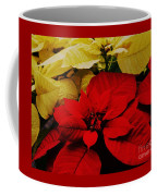 Red And White Poinsettias Coffee Mug