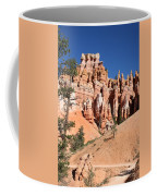 Red And White Rocks - Bryce Canyon Coffee Mug