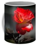 Red And White Rose Coffee Mug