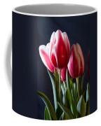 Red And White Tulips Coffee Mug