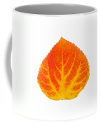 Red And Yellow Aspen Leaf 5 Coffee Mug