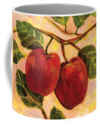 Red Apples On A Branch Coffee Mug