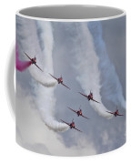 Red Arrows Roll Left Coffee Mug
