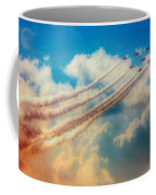 Red Arrows Smoke The Skies Coffee Mug