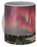 Red Aurora Panorama 1 Feb 12, 2016 Coffee Mug
