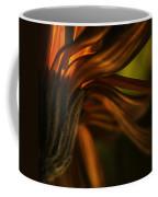 Red Autumn Blossom Detail Coffee Mug