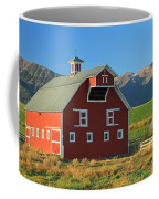 Dn5939-red Barn In The Wallowas Coffee Mug