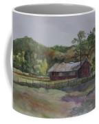 Red Barn Coffee Mug by Janet Felts
