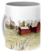 Red Barn Coffee Mug by Marcia Colelli
