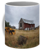 Red Barn On The Hill Coffee Mug