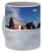 Red Barn Series Feat. Snow Coffee Mug