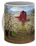 Red Barn Spring Coffee Mug by Mike  Dawson
