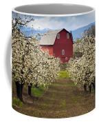 Red Barn Spring Coffee Mug