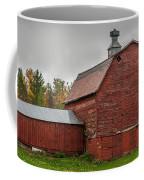 Red Barn With Fall Colors Coffee Mug