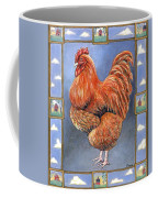 Red Baron Rooster Coffee Mug