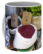 Red Beans At Nicaragua Market Coffee Mug