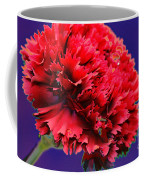 Red Beauty Carnation Coffee Mug
