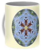 Red Bellied Turtle Mandala Coffee Mug