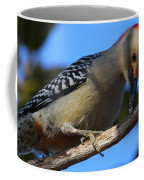 Red-bellied Woodpecker Catching Grub Coffee Mug