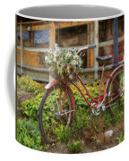 Red Bicycle Coffee Mug