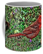 Red Bird Art Coffee Mug
