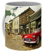 Red Bird On Main Street Coffee Mug