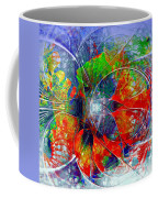 Red Bloom Coffee Mug