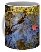 Red Blue And Gold Coffee Mug