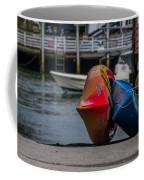 Red Blue And Yellow Coffee Mug