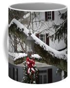 Red Bow Candle Light Coffee Mug