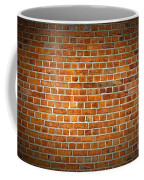 Red Brick Wall Texture With Vignette Coffee Mug