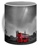 Red Bus Coffee Mug by Svetlana Sewell