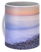 Red Calm At The Beach Coffee Mug