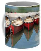 Red Canoes Coffee Mug
