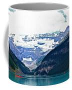 Red Canoes Turquoise Water Coffee Mug