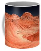 Red Canyon Swirls Coffee Mug