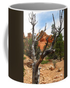 Red Canyon Tree And Rocks Coffee Mug