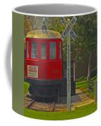 Red Car Museum In Seal Beach Ca Coffee Mug