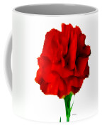 Red Carnation Coffee Mug