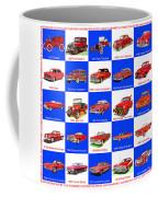 Red Cars Of America Coffee Mug