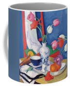 Red Chair And Tulips, C.1919 Coffee Mug