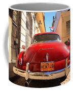 Red Chevrolet Coffee Mug