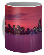 Red Chicago Sunset Coffee Mug