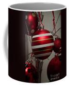 Red Christmas Balls Coffee Mug