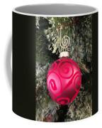 Red Christmas Ornament Coffee Mug