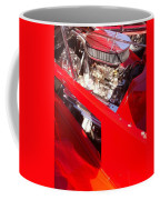 Red Classic Car Engine 2 Coffee Mug