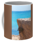 Red Cliff And Regatta In The Blue Coffee Mug