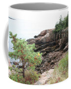 Red Cliffs Of Acadia  Coffee Mug